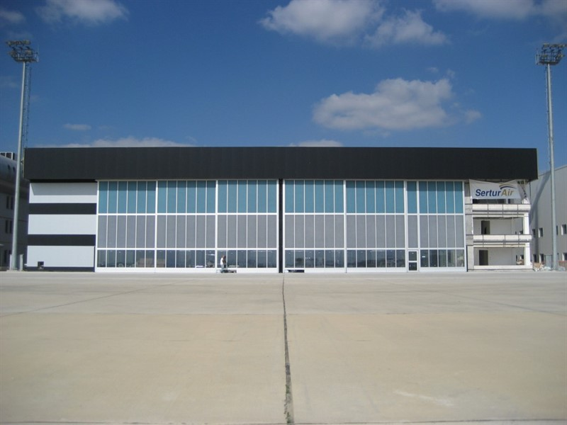 TMS MÜHENDİSLİK SERTUR AVIATION COMPANY MAINTENANCE AND REPAIR HANGARS