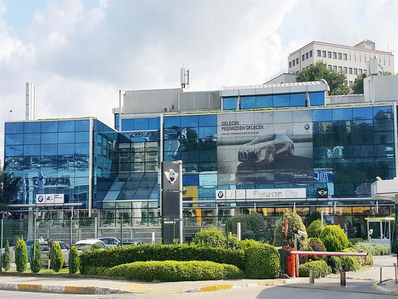TMS MÜHENDİSLİK BMW BORUSAN BİNASI - İSTİNYE