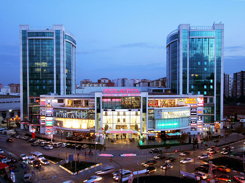 TMS MÜHENDİSLİK PERLAVISTA SHOPPING CENTER